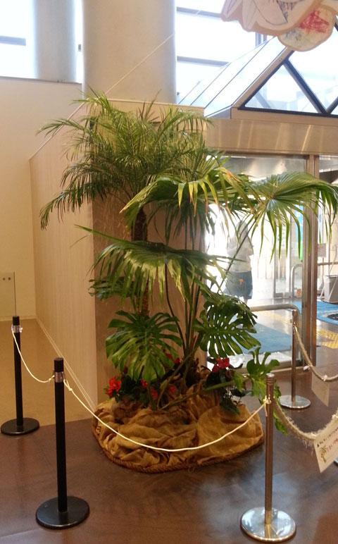 観葉植物レンタル グリーンレンタル 室内演出 ジャングル サマーイベント