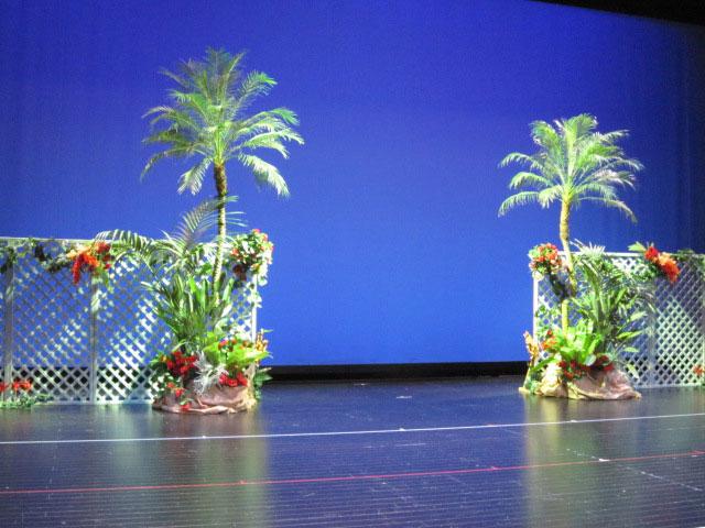 観葉植物レンタル グリーンレンタル 舞台演出